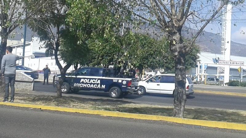 Complicado el tránsito vehicular con dirección al Estadio Morelos, tome sus precauciones