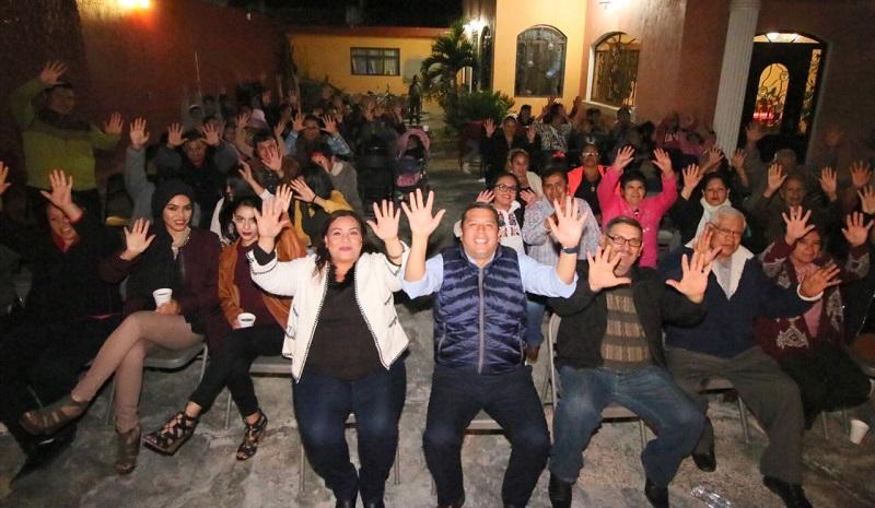 Barragán Vélez aseguró que en Michoacán poco a poco se han logrado consolidar como la tercera fuerza dentro del PRD, y tan solo este último mes han puesto en marcha 7 casas de gestión en las principales ciudades del estado