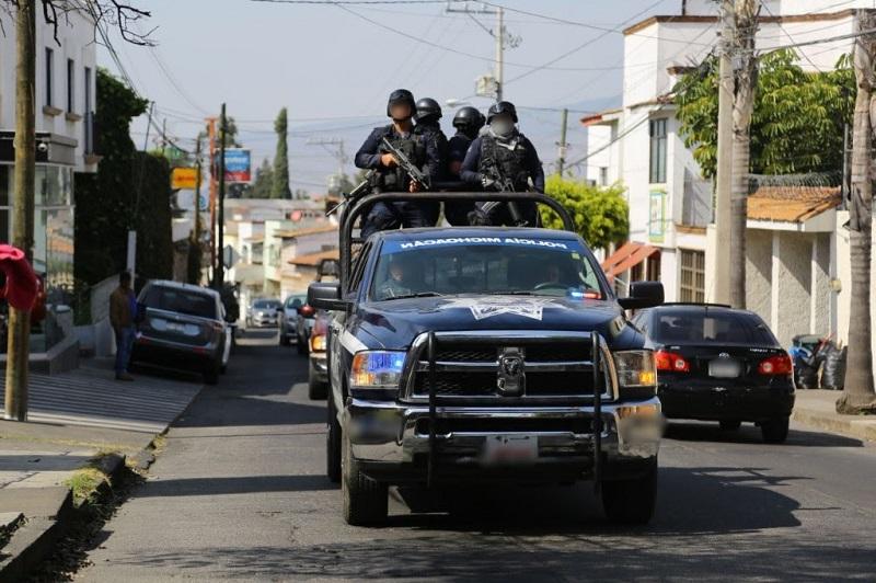 El personal policial apoya también en el resguardo del sitio donde se registraron los hechos, para facilitar las primeras actuaciones ministeriales
