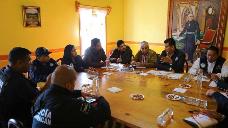 Reforzarán seguridad en el oriente de Michoacán