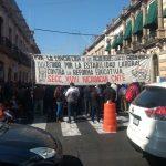 A las quejas de los meses anteriores se suma ahora la pretensión de implementar cobros de derechos por servicios educativos en la Ley de Ingresos de Michoacán para 2018