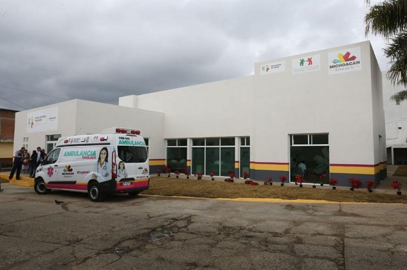 Asimismo, a la SCOP ha correspondido la construcción de nuevas instalaciones en las Comunidades Modelo de Cenobio Moreno, Apatzingán; Pinzándaro, en Buenavista; Úspero, Parácuaro; y Tepalcatepec