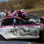 El aparatoso accidente fue reportado a la línea de emergencias a la altura de la comunidad de Monte Grande, por lo que se desplazaron unidades de Protección Civil Municipal de Huetamo, así como Policía Michoacán al lugar