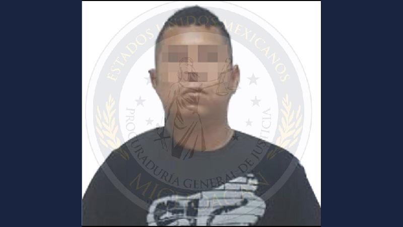 El imputado fue internado en el Centro de Reinserción Social de Apatzingán y presentado ante el Juez de control a efecto de que sea resuelta su situación jurídica