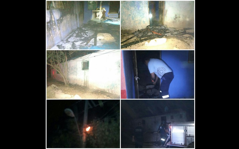 Al lugar acudió personal en coordinación con Policía Michoacán, los cuales confirmaron la información y atacaron el fuego desde varios puntos para evitar que el fuego se extendiera a otros domicilios