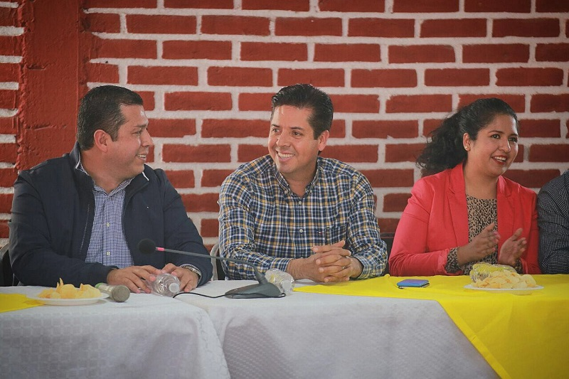 García Conejo agradeció el apoyo en esta precampaña, que es el primer paso para que Michoacán tenga un representante digno en la Cámara Alta