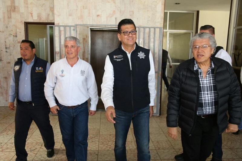 Corona Martínez detalló las actividades operativas y de prevención que realiza la Policía Michoacán, a fin de inhibir delitos contra establecimientos comerciales