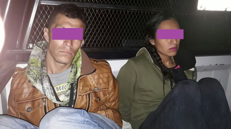 Tanto la pareja como el auto fueron puestos a disposición del Ministerio Público, para que sea la instancia competente que defina su situación jurídica y deslindar responsabilidades