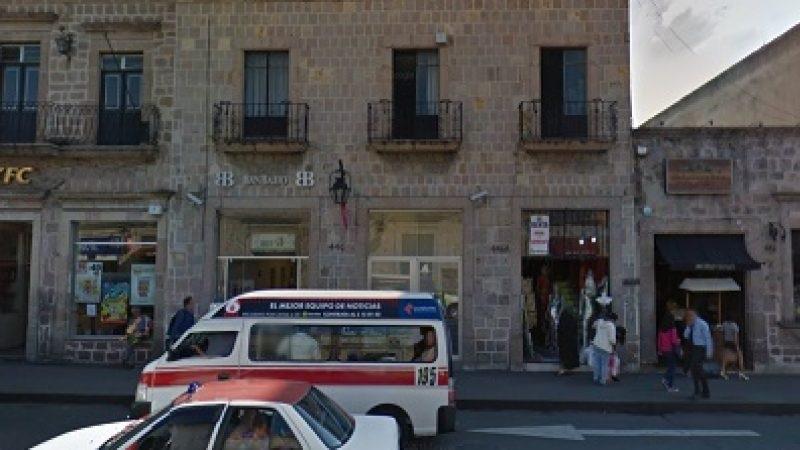 Los elementos de la Policía de Morelia tardaron varios en arribar al lugar, por lo cual al implementar el operativo de búsqueda no dieron con los delincuentes