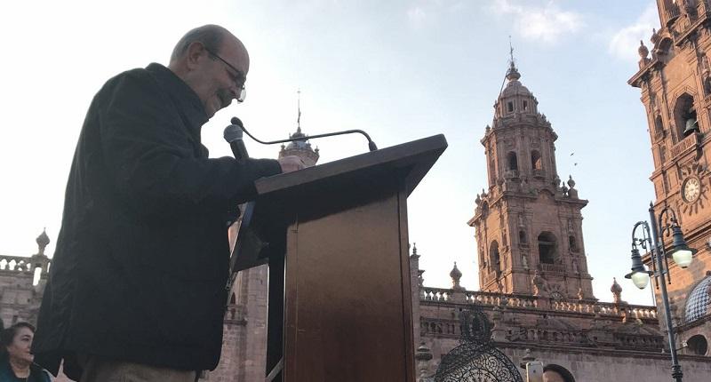 Vallejo Figueroa aseguró que sigue y seguirá trabajando por las necesidades de Michoacán y Morelia con el mismo ahínco, amor y pasión hasta el último de su vida