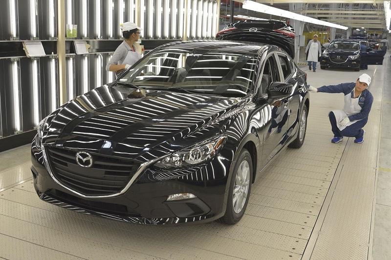 En lo que se refiere al estado de Guanajuato, se ubican tres plantas ensambladoras de automóviles: General Motors, Honda y Mazda