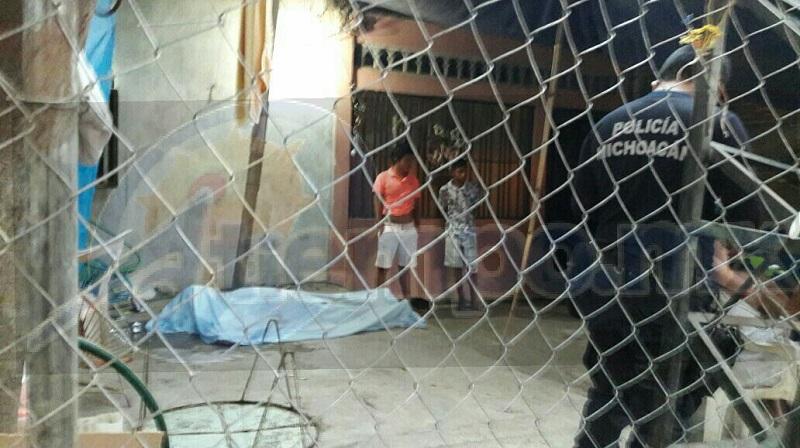 El hecho se registró minutos después de las  07:30 horas cuando un sujeto armado arribó al domicilio ubicado en la calle Pedro Moreno de la Colonia Ampliación Comunal Morelos de la tenencia de las Guacamayas