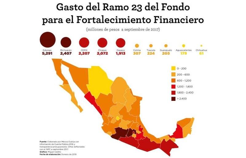 """El gobernador de Chihuahua, Javier Corral, expuso en la conferencia de que """"estamos conscientes de que hemos tocado el modus operandi de la corrupción en México de la que toda la nación habla con la diferencia de que nosotros la hemos acreditado técnica y documentalmente"""""""