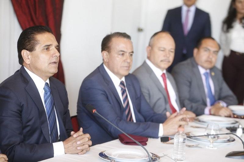 Presidió Aureoles Consejo reunión con las delegadas y los delegados federales