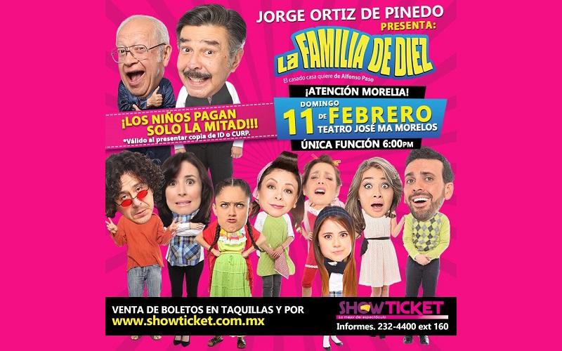 Boletos a la venta por el sistema www.showticket.com.mx; la obra cuenta con 300 presentaciones