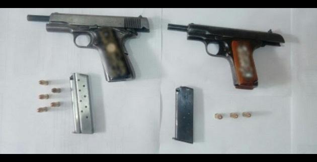 Los detenidos y las armas serán puestos a disposición de la autoridad competente que definirá su situación jurídica