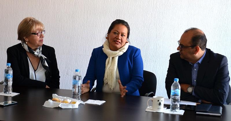 En las instalaciones de la Comisión Ejecutiva Estatal de Atención Víctimas, su titular Cristina Cortés expresó que las acciones a realizar, en el ámbito de competencia de cada comisión, atienden a un modelo de trabajo interinstitucional a implementar durante su gestión
