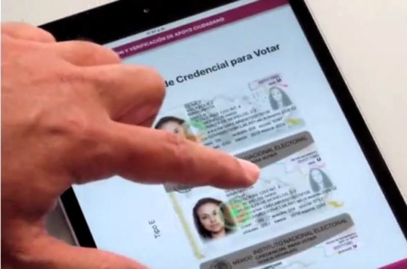 En la verificación de las firmas de los aspirantes a diputados federales se han encontrado registros con imágenes de licencias de conducir, fotos dobles de credencial de elector o registros sin imágenes