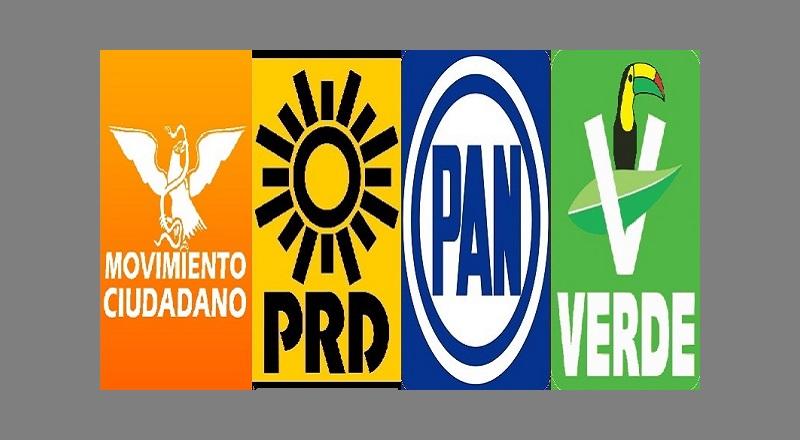 """Hasta el momento los detalles sobre cuáles distritos y municipios irán para determinadas combinaciones de partido han sido mantenidos bajo reserva, pero seguramente se darán a conocer hasta el momento de concretar la solicitud de registro de la coalición """"Por Michoacán al Frente"""""""