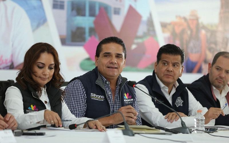 Tal como ha hecho en otras regiones, Aureoles Conejo se reunió con periodistas, comunicadoras y comunicadores de Zamora, Jiquilpan, Sahuayo y Los Reyes