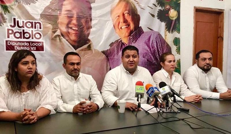 Durante una rueda de prensa, el legislador por el distrito VII con cabecera en Zacapu resaltó que serán los ciudadanos los que reconocerán el trabajo de los funcionarios públicos