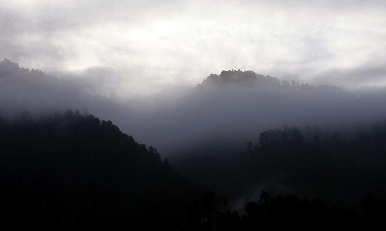 Temperaturas mínimas de 0 a -5 grados Celsius se esperan en sierras de Baja California, Aguascalientes, Jalisco, Michoacán, Guanajuato, Querétaro, Hidalgo, Veracruz, Puebla, Tlaxcala y Estado de México
