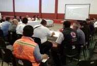 A esta reunión acudieron autoridades de seguridad pública de la región Huetamo y de los municipios de Nocupétaro y Tacámbaro, del Hospital Comunitario Caracuaro/Nocupétaro, de la Jurisdicción Sanitaria de Pátzcuaro, entre otros