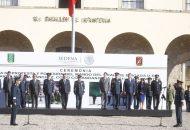 El titular del Ejecutivo Estatal refrendó su respeto y admiración por las Fuerzas Armadas, al mismo tiempo que reafirmó su compromiso para trabajar de la mano con el nuevo comandante