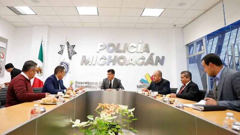 Corona Martínez dio a conocer las medidas que se establecerán con el objetivo primordial de evitar la injerencia de células delincuenciales en el proceso electoral