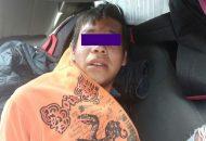 El presunto asaltante, de nombre Alfonso P., fue identificado por la afectada mediante el material fotográfico enviado a la base de datos de la Policía de Morelia, y se le puso a disposición del Ministerio Público para continuar con su debido proceso