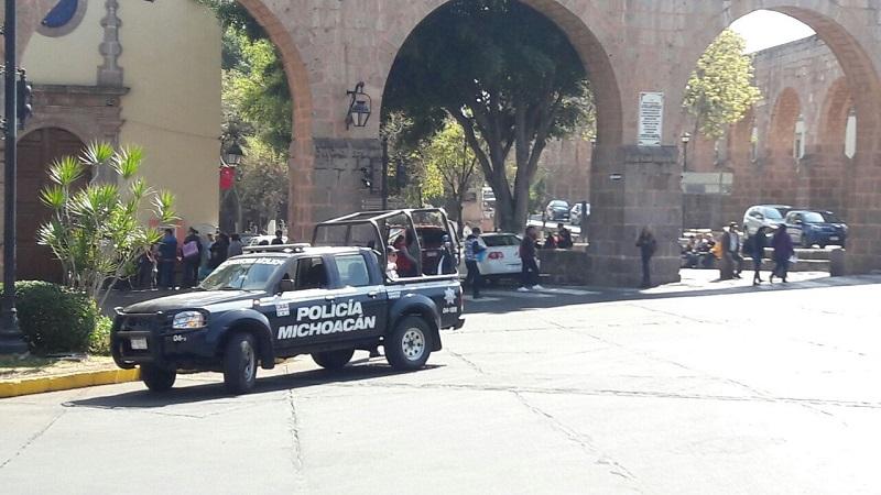 Los manifestantes hicieron acto de presencia frente a la Secretaría de Finanzas y Administración, además realizaron bloqueos en la Calzada Madero y la Avenida Acueducto