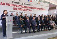 Miranda de Wallace es la presidente de la Asociación Civil Alto al Secuestro