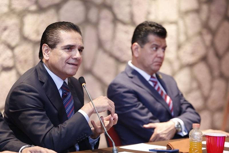 Aureoles Conejo destacó la importancia de mantener un trabajo cercano a la gente y de fortalecer el despliegue de programas y obras en todo el territorio michoacano