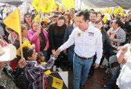 """""""Si llegamos al Senado, que de ello estoy seguro, vamos a buscar modificar esta discriminatoria ley para que el presupuesto de los estados y municipios crezca a cuando menos un 35%"""": García Conejo"""