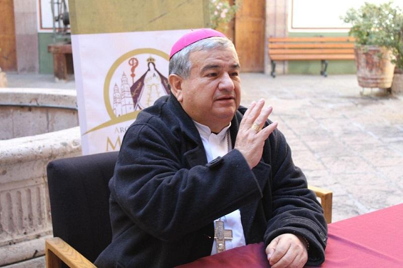 En cuanto al tema de violencia, el Señor Arzobispo, compartió que la inseguridad y la violencia han crecido y se presentan de una manera más exacerbada en las Diócesis de Apatzingán y Zamora