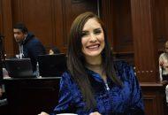 La inserción de las mujeres en la vida política debe ser también incentivada en todos los niveles, consideró la diputada Nalleli Pedraza