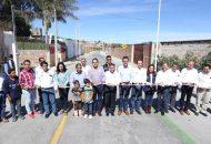 Además, Aureoles Conejo encabezó la inauguración de obra de Fondo Metropolitano, que consistió en la pavimentación con concreto hidráulico en la avenida Eduardo Villaseñor Peña, en La Piedad