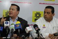García Avilés exhortó al partido de la CNTE, Morena, a que se suman a las mesas de gobernabilidad para signar el acuerdo de civilidad política en el marco del proceso electoral de este año