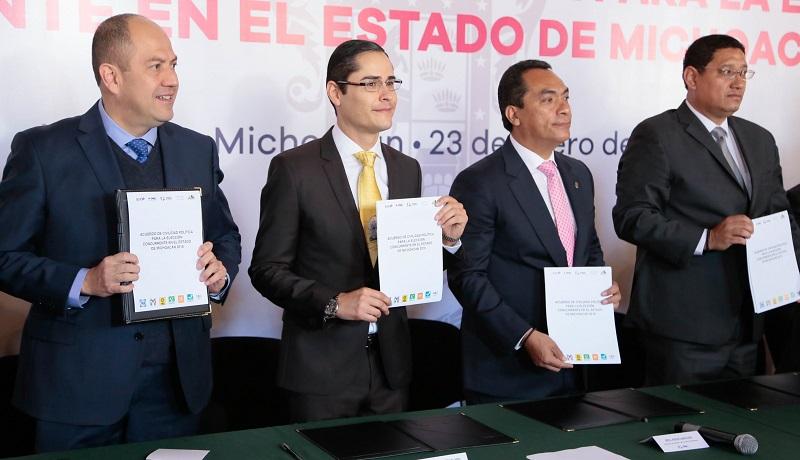 Para Villegas Soto, es necesario lograr un proceso electoral que beneficie a todos los michoacanos