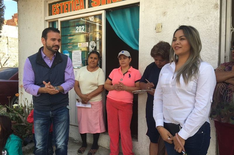 Yankel Benítez afirmó que quiere representar la voz de los ciudadanos para lograr que las acciones y los programas que se implementen traigan desarrollo a ese distrito de la ciudad