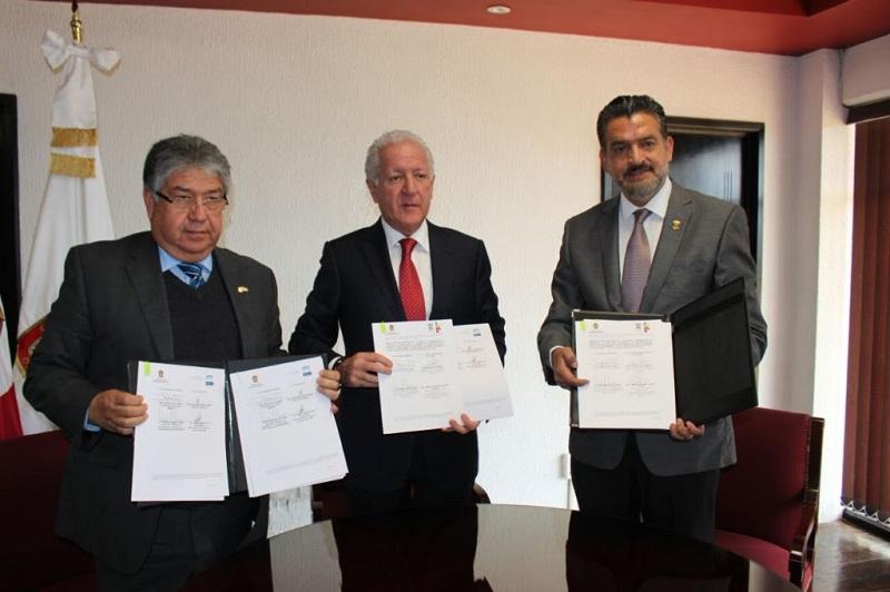 Se reúnen los titulares de Medio Ambiente de los Estados de México, Guanajuato y Michoacán
