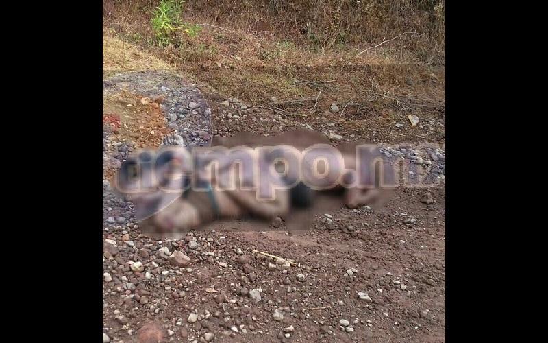 Este hecho ocurrió en menos de una hora dónde fuera localizado otro hombre asesinado en la comunidad de La Ciénaga y presentaba huellas de tortura