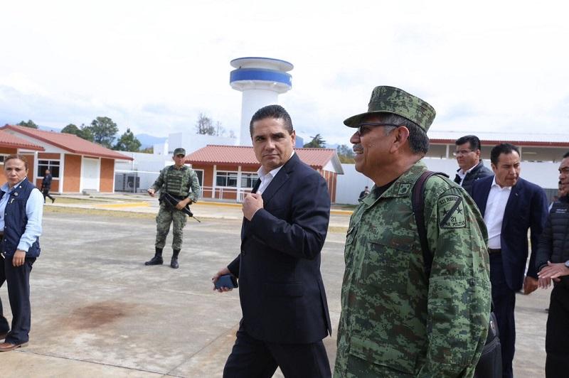 Aureoles Conejo recalcó que las reuniones que se realizan con el GCM continuarán periódicamente para reforzar cada una de las acciones que en materia de seguridad se han implementado