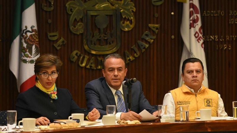 Previo a la elección de su relevo en la coordinación, Pascual Sigala refirió que la agenda planteada por la Coordinación Nacional, formó parte de las prioridades establecidas posteriormente en la Conferencia Permanente de Congreso Locales