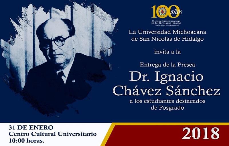 La ceremonia de entrega tendrá lugar este 31 de enero en el auditorio del Centro Cultural Universitario en punto de las 10:00 horas