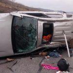 En el accidente hubo una niña de cuatro años fallecida y tres personas lesionadas