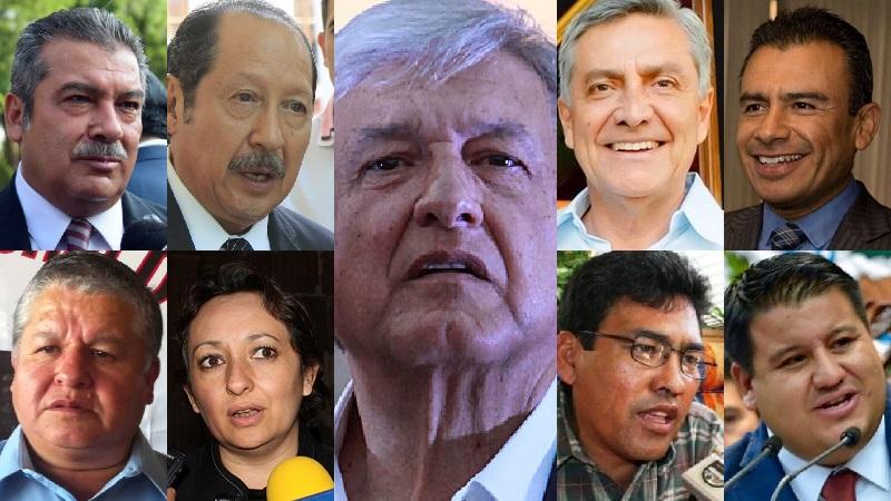 López Obrador está sumando lo que sea, y de dónde sea, con tal de acumular votos, y en muchos casos nomás por impresionar, porque muchas de esas adhesiones llegan solas, sin respaldo, y sin garantizar sufragios