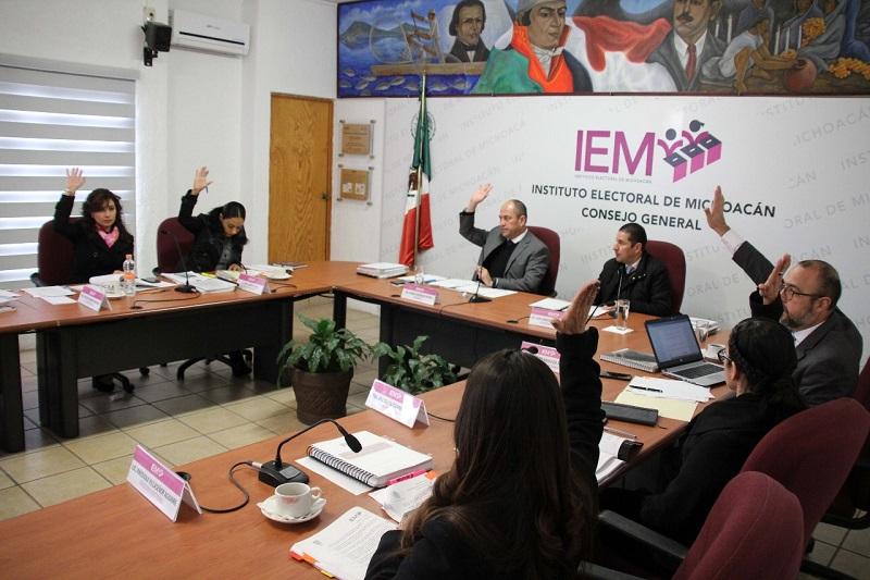 De igual forma, se suspenden los actos tendentes a dar cumplimiento a lo ordenado por el Tribunal Electoral del Estado de Michoacán