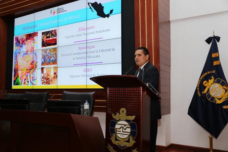 Podemos afirmar que en Michoacán hoy existe gobierno, destaca Silvano Auroeles