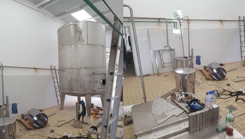 En Buenavista, Parácuaro, Múgica, Apatzingán y Tepalcatepec se producen 200 mil litros de leche todos los días, y serán los principales abastecedores del centro de acopio